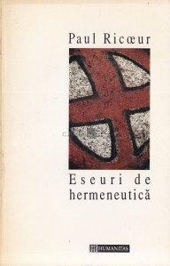 Eseuri de hermeneutica
