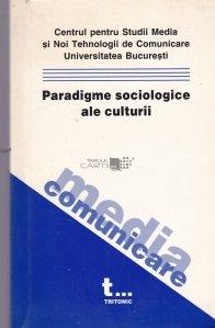 Paradigme Sociologice Ale Culturii
