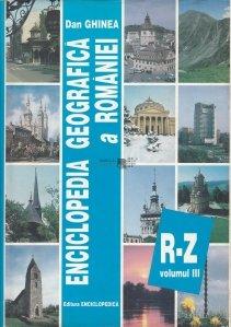 Enciclopedia geografica a Romaniei vol. 3