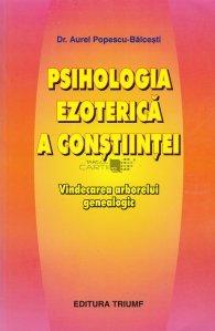 Psihologia ezoterica a constiintei