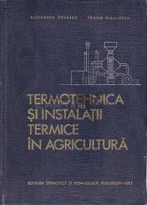 Termotehnica Si Instalatii Termice In Agricultura