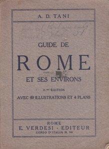 Guide de Rome et ses environs