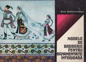 Modele de broderie pentru ornamentatie interioara