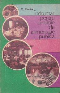 Indrumar pentru unitatile de alimentatie publica
