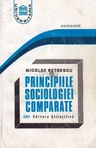 Principiile sociologiei comparate