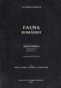 Fauna Romaniei - Arachnida