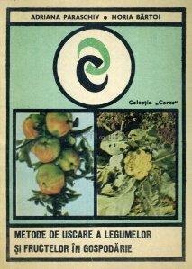 Metode de uscare a legumelor si fructelor din gospodarie