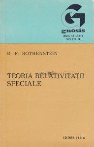 Teoria relativitatii speciale... intuitiv