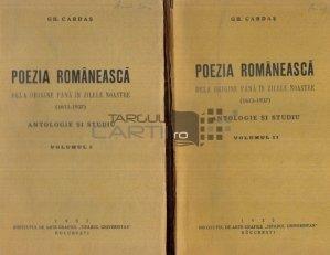 Poezia romanesca dela origine pana in zilele noastre
