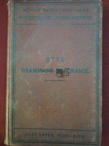 Nouvelle Gramaire Allemande / Noua gramatica germana