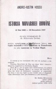 Istoria monarhiei romane