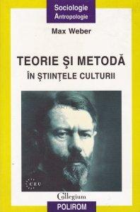 Teorie si metoda in stiintele culturii