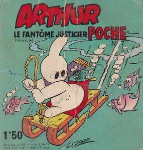 Arthur - Le Phantome Justicier Nr. 3/1949