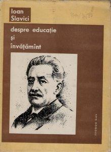 Despre educatie si invatamant