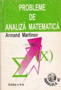 Probleme de analiza matematica