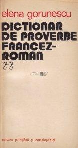 Dictionar de proverbe francez-roman