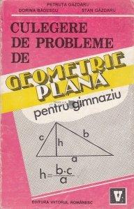 Culegere de probleme de geometrie plana