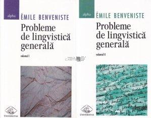 Probleme de lingvistica generala