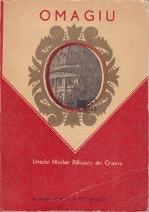 Omagiu Liceului Nicolae Balcescu din Craiova