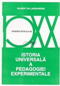 Istoria universala a pedagogiei experimentale