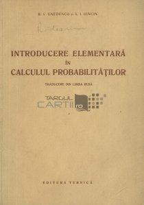 Introducere elementara in calculul probabilitatilor