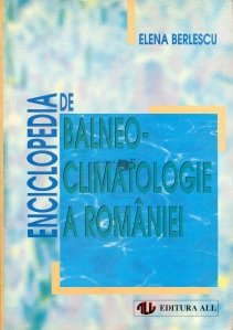Enciclopedia de balneo-climatologie a Romaniei