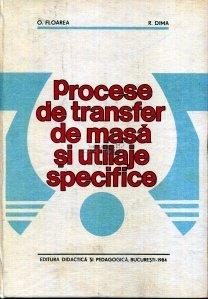 Procese de transfer de masa si utilaje specifice