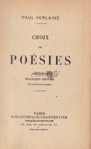 Choix de poesis / Poezii alese