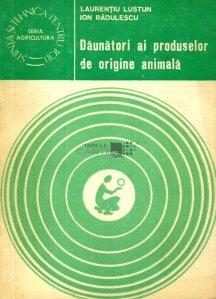 Daunatori ai produselor de origine animala