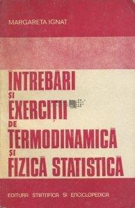 Intrebari si exercitii de termodinamica si fizica statistica