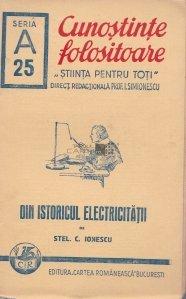 Din istoricul electricitatii