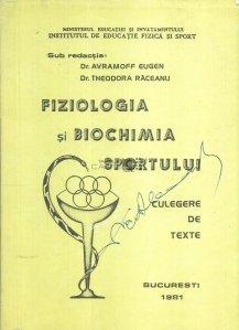 Fiziologia si biochimia sportului