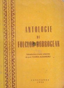 Antologie de folclor dobrogean