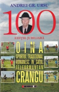 Oina. Sportul traditional romanesc in satul telormanean Crangul. Satul traditional Crangul