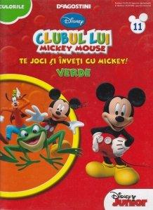Clubul lui Mickey Mouse. Te joci si inveti culorile cu Mickey!