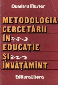 Metodologia cercetarii in educatie si invatamant