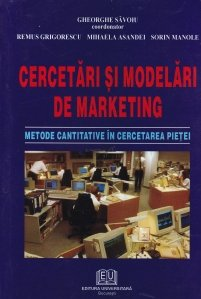 Cercetari si modelari de marketing