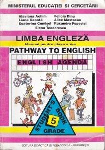 Limba engleza. Manual pentru clasa a V-a / Calea catre engleza Agenda engleza