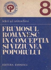 Frumosul romanesc in conceptia si viziunea poporului
