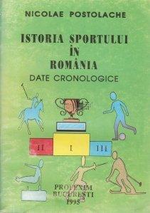 Istoria sportului in Romania