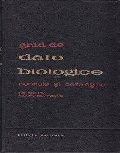 Ghid de date biologice normale si patologice