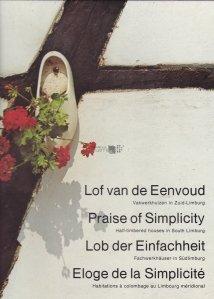 Lof van de Eenvoud / Praise of Simplicity / Lob der Einfachheit / Eloge de la Simplicite
