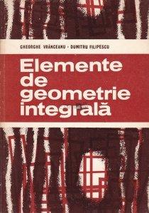 Elemente de geometrie integrala