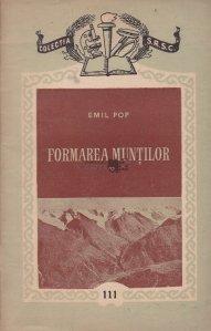 Formarea muntilor