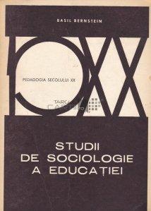 Studii de sociologie a educatiei