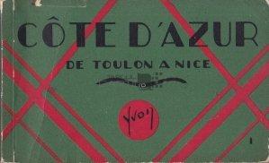 Cote d'Azur de toulon a Nice