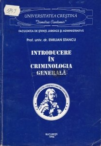 Introducere in criminologie generala