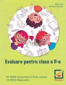 Evaluare pentru clasa a II-a