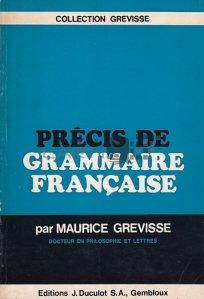 Precis de grammaire francaise