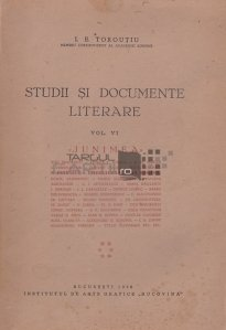 Studii si documente literare